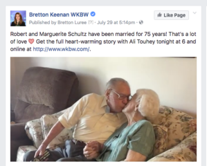 Couple married for 75 years gives their secret