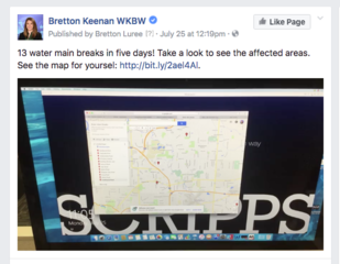 See the map of water main breaks in WNY!