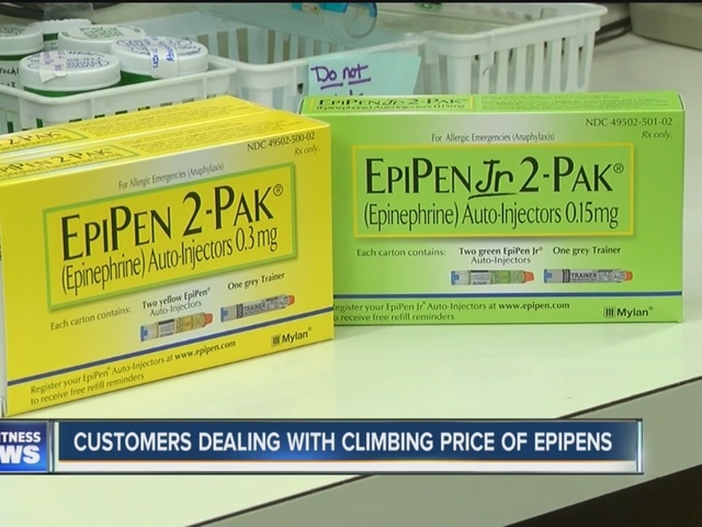 WNYers worried about rising EpiPen costs