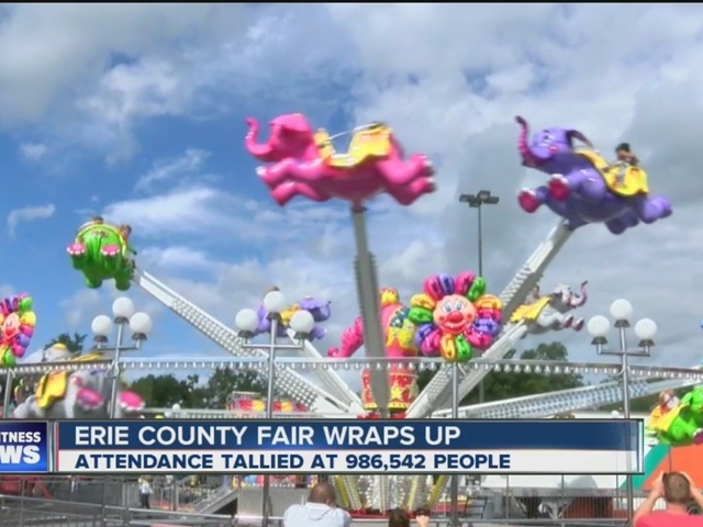 Erie County Fair attendance down 15% from 2015