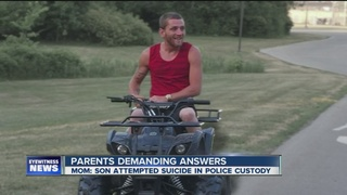 Local man on life support, family blames police
