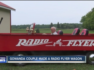 Retired couple makes a red wagon that can hit 70