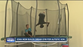 Special gym built for kids who have Autism