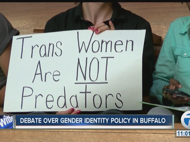 Things got heated regarding the Gender Identity Policy at the Buffalo…