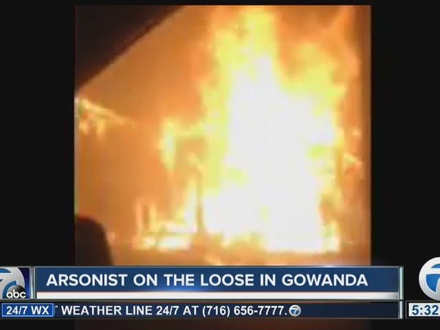 Gowanda arsonist