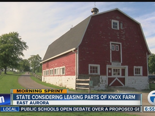 State Considering Leasing Parts of Knox Farm