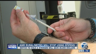 AMR RuralMetro says EpiPens are too expensive