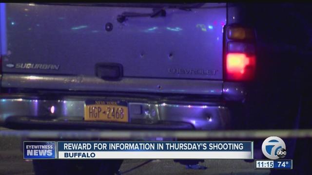 8-year-old boy hit by gunfire in Buffalo