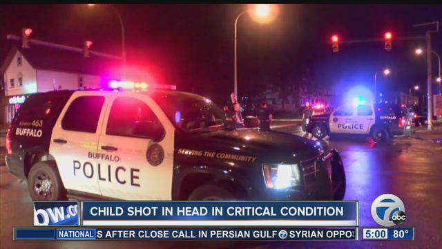 8-year-old boy hit by gunfire in Buffalo