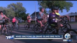 Community divide over Grand Island bike path