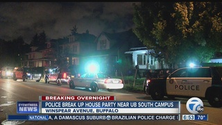 Police break up apparent house party near UB