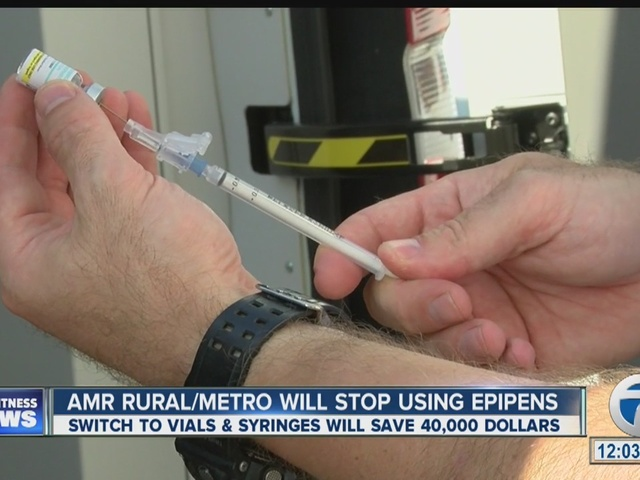 AMR RuralMetro will stop using Epipens because of rising costs