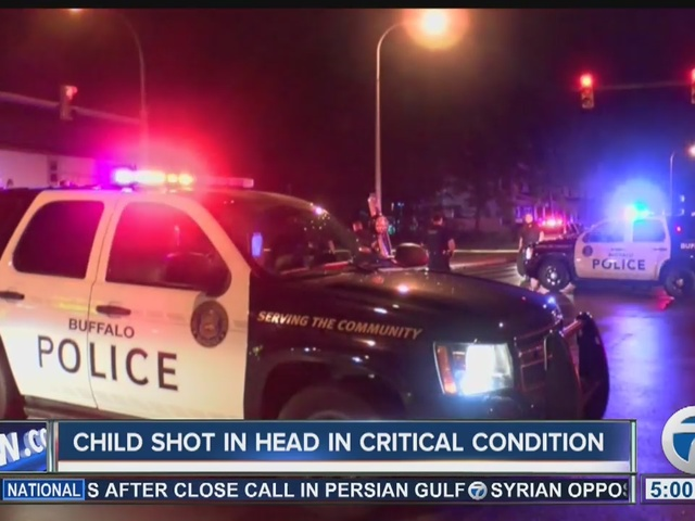 Child shot update