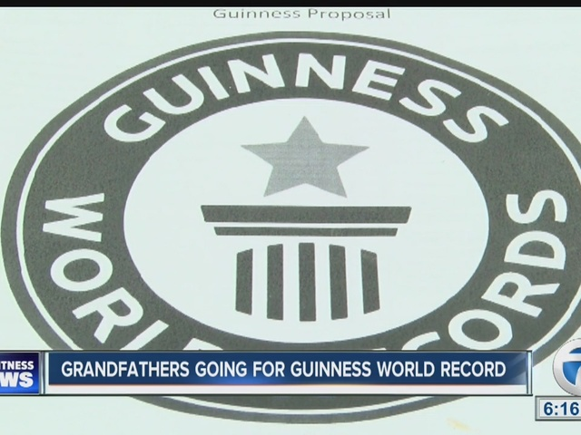 Grandfathers attempt Guinness World Record