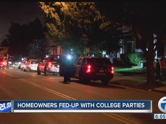 Neighbors fed up with massive house parties near UB South
