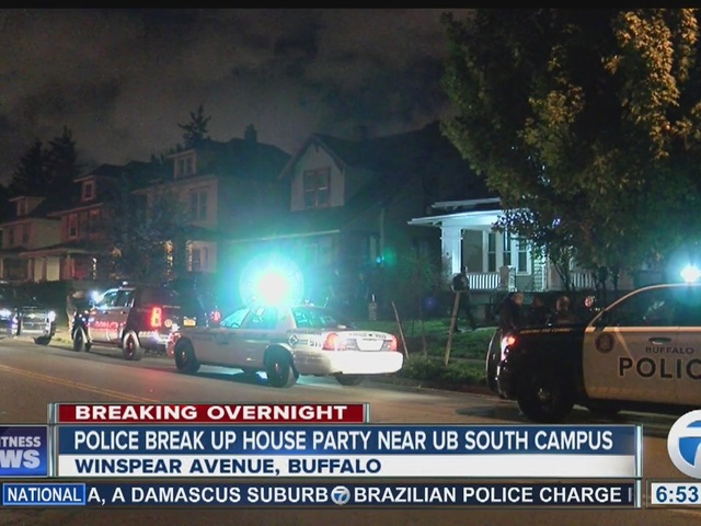 Police break up apparent house party near UB South