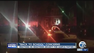 Neighbors upset with house parties near UB South