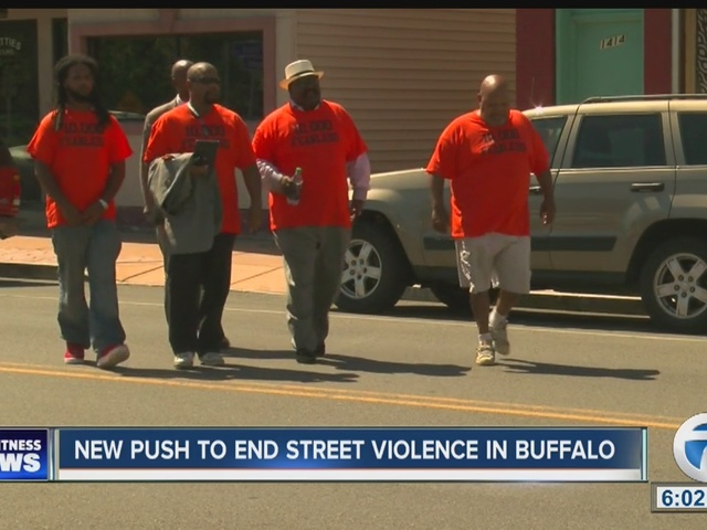New push to curb street violence in Buffalo