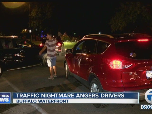 Canalside traffic problems anger drivers