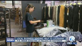 Local company donating to Lousiana flood victims