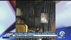 Fire chars room inside Erie County Public Works