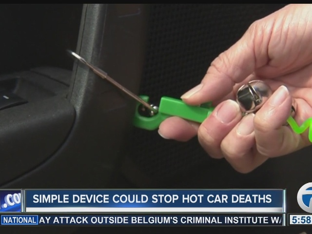 Could this prevent a child from being left in a hot car?