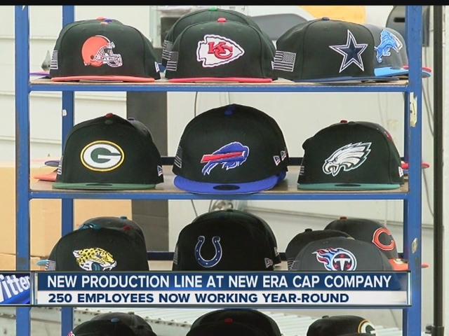 New Era will begin manufacturing of NFL caps this week