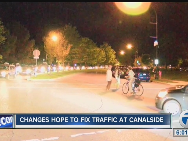 Organizers hope changes to Canalside will help ease traffic