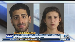Couple accused of assaulting deputy due in court
