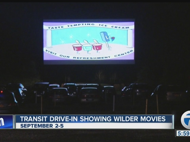 Gene Wilder featured at drive-in this weekend