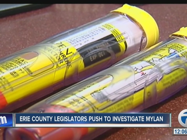Local leaders calling for EpiPen investigation