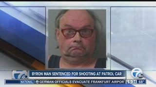 Man who shot at deputy's patrol car sentenced