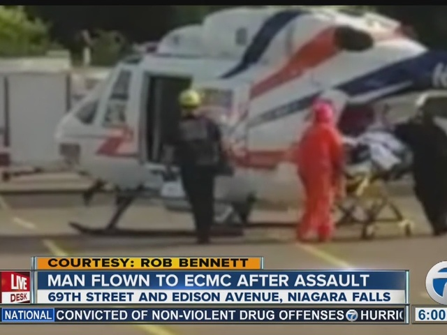 Man flown to ECMC after Niagara Falls assault