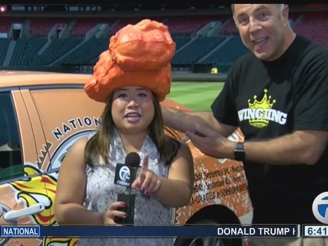 National Buffalo Wing Festival takes over Coca Cola field, reporter…