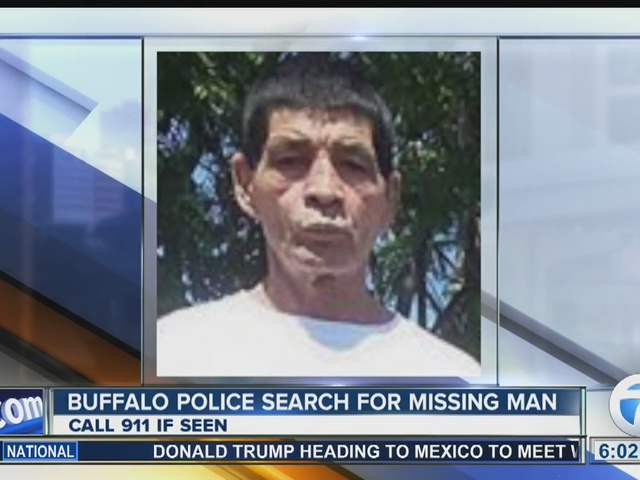 Police: missing Buffalo man does not speak English
