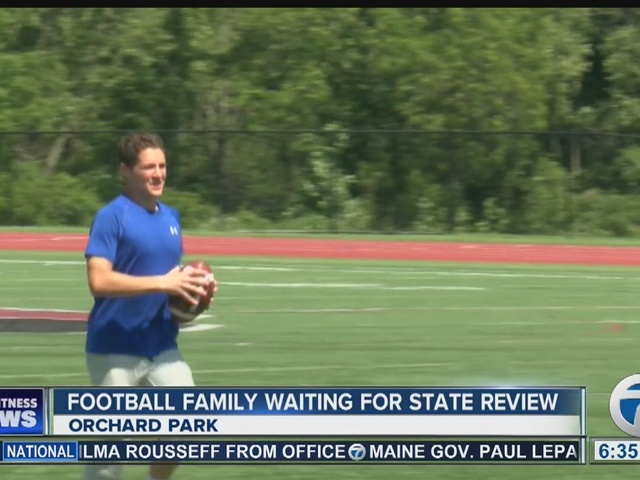 State to decide whether one orchard park senior can play football