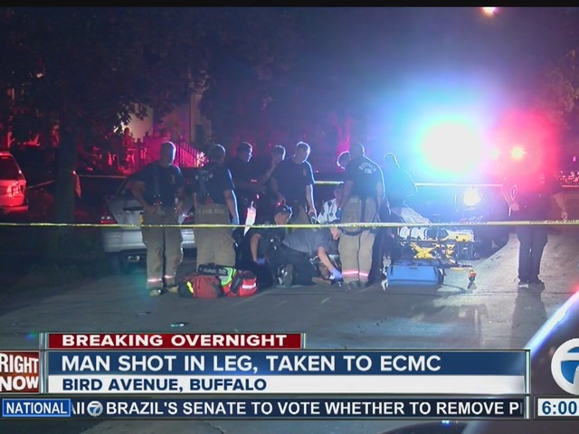 Three people in custody after overnight Buffalo shooting