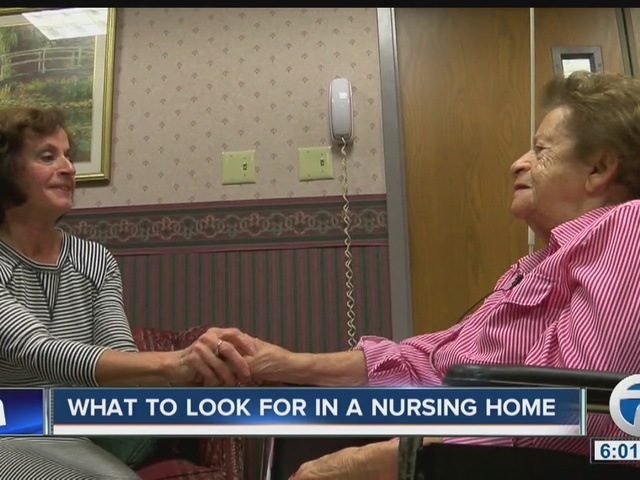 What to look for in a nursing home