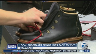 One local shoemaker to bring more jobs to WNY