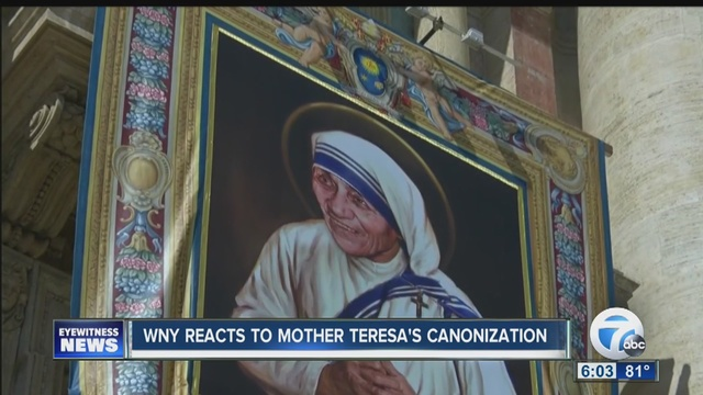 Pope admits he finds it hard to say 'St. Teresa'