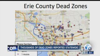 Erie Co. has 2nd most cellphone dead zones in NY