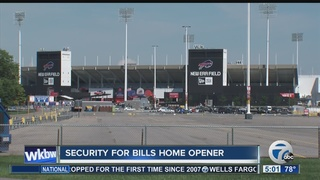 Traffic warning for Bills fans headed to game