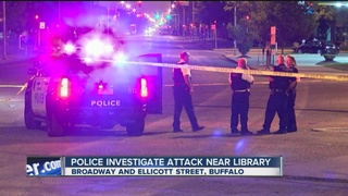 Person assaulted outside Central Library
