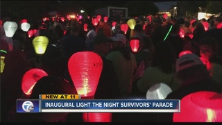 18th year Light the Night honors cancer survivor