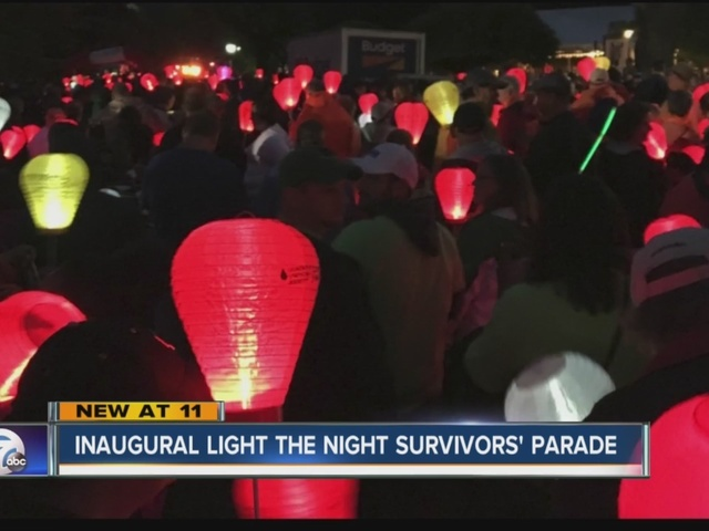 18th year Light the Night honors cancer survivors and fighters