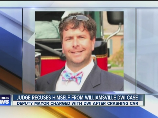 Williamsville Deputy Mayor DWI case delayed after judge recuses himself