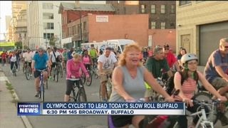 Olympian to lead Buffalo's Slow Roll