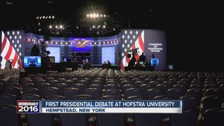 Hofstra University gets ready for debate