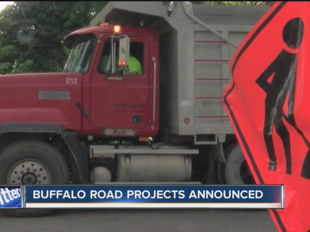 Fall roadwork underway in Buffalo