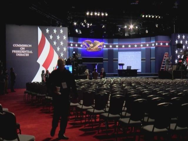Hofstra University prepares for debate